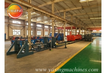φ820 Steel Pipe Hot Expansion Production Line Finished